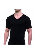 T-Shirt Thermo Homem Decote Bico